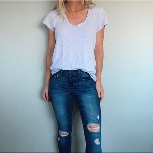 Klique B. Distressed Jeans